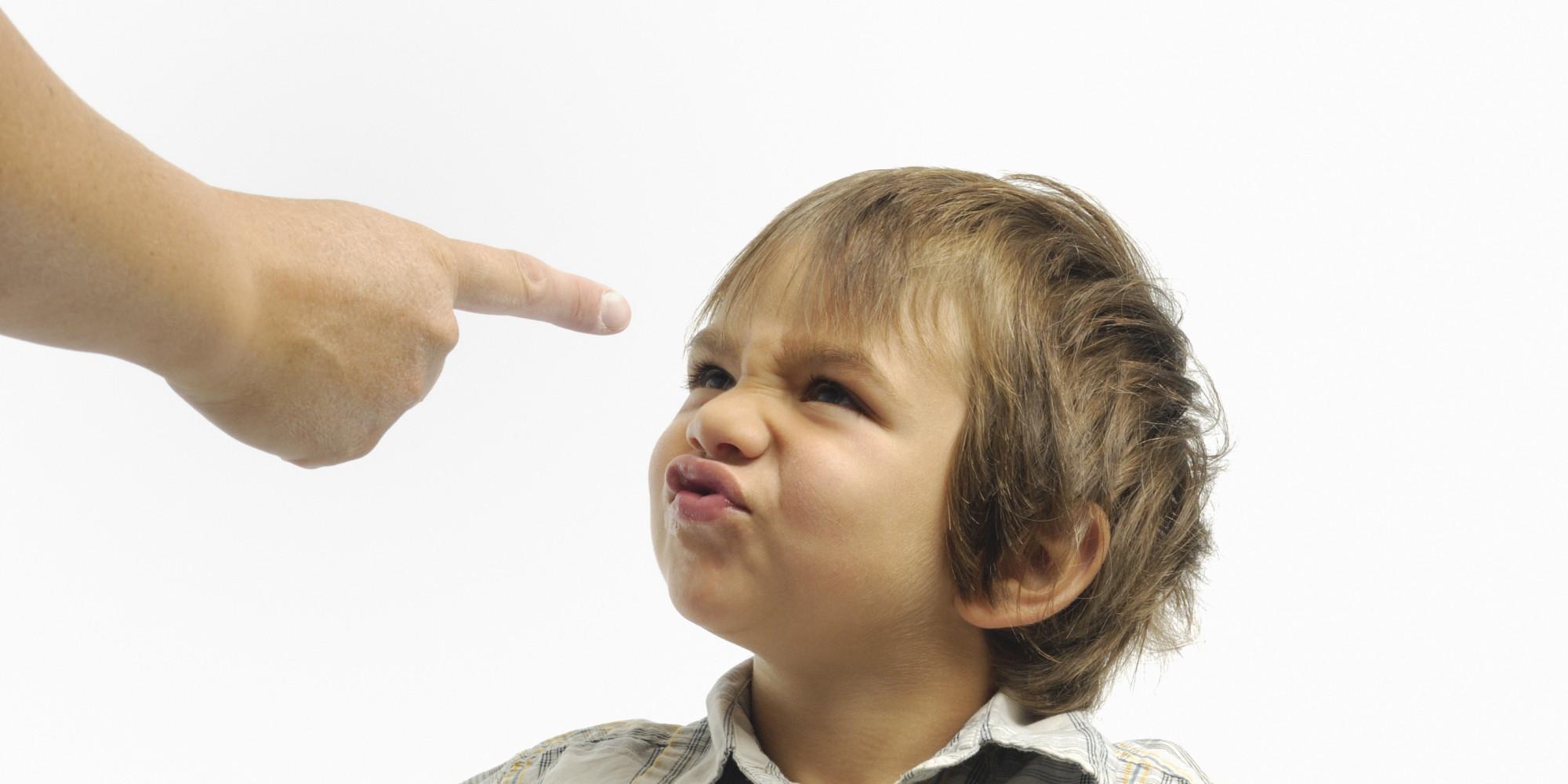 Как сделать замечание ребенку