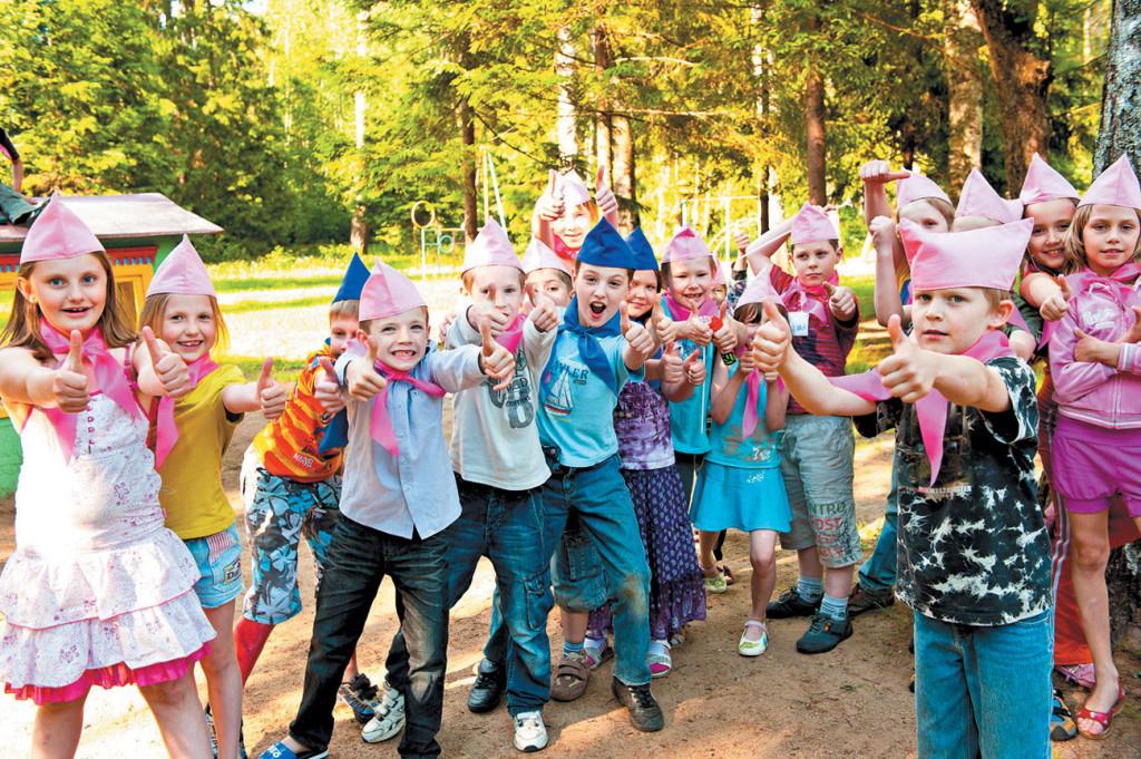 Подарок детям от лагеря 133