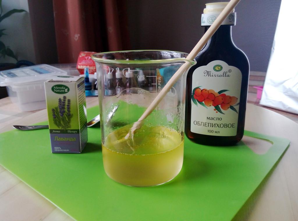 Добавляем 3-7 капель эфирного масла