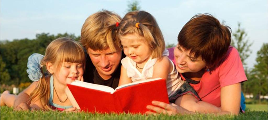 Чем занять ребенка летом в городе. Семейное чтение