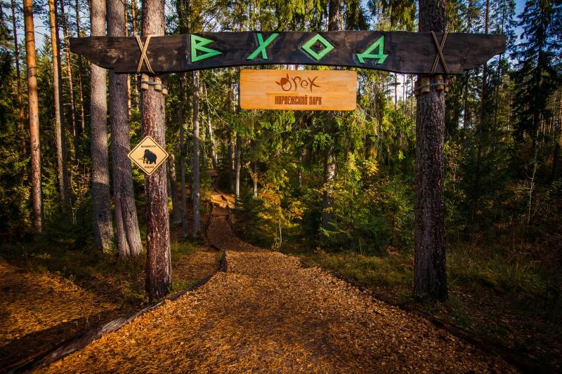 Ленобласть детям. Приозерск. Норвежский парк «Орех»