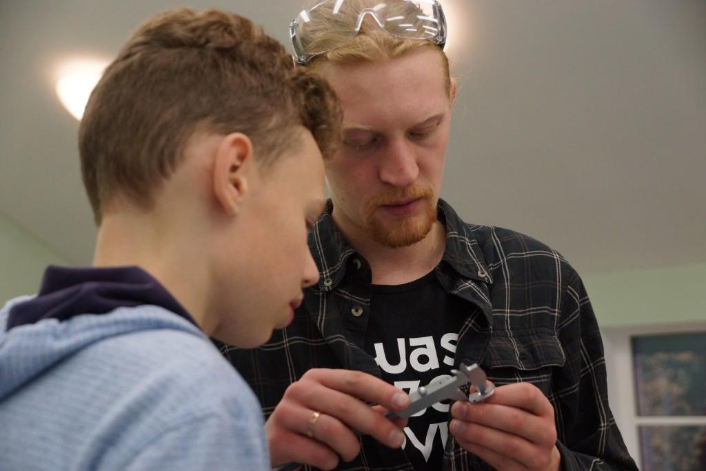 компетенция «Ремонт и обслуживание авиационной техники» Дворца творчества детей и молодёжи «Молодежный творческий форум Китеж Плюс»