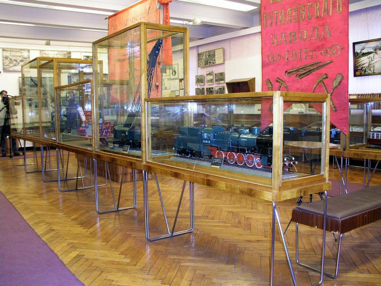 Каникулы в Музее истории и техники Кировского завода