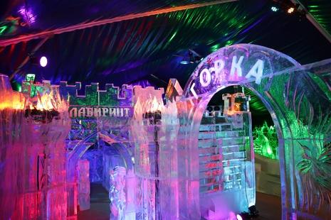 парк ледяных скульптур на Московской площади
