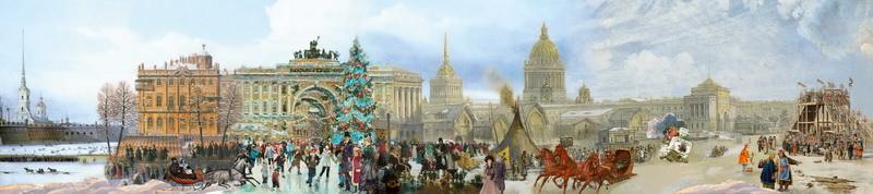 Выставка «Зимняя рапсодия. Сказки Санкт-Петербурга»