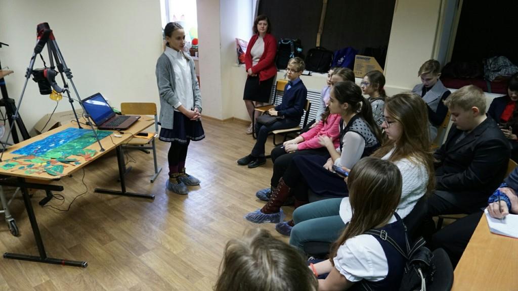 Учила школьников делать анимационные мультфильмы Алиса Кадочникова