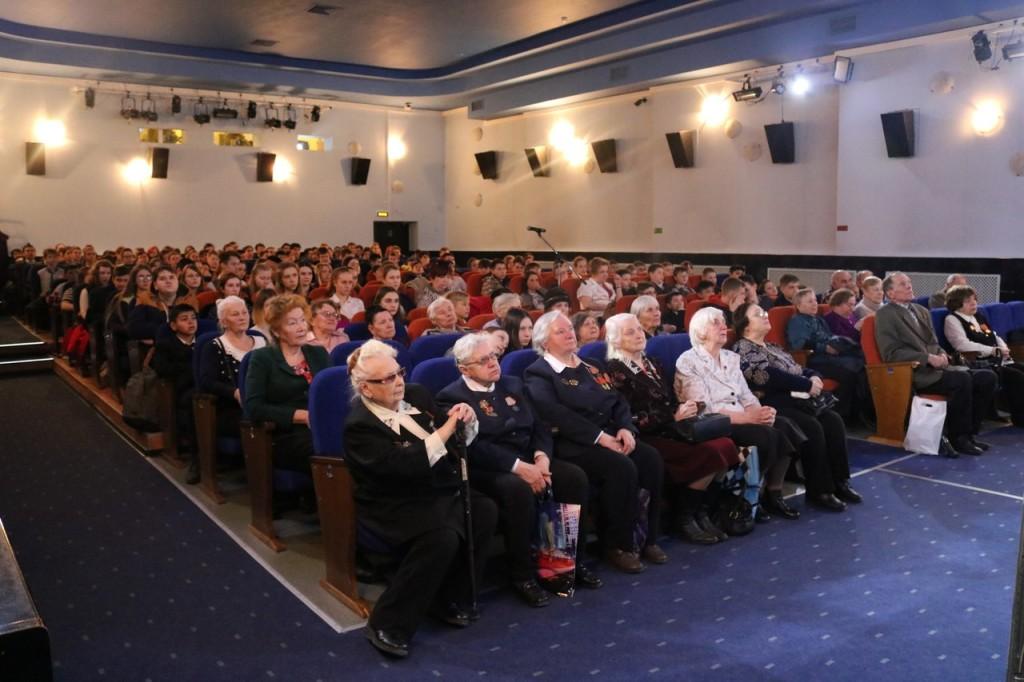 11 апреля в киноцентре «Чайка» прошел Всероссийский «Телемост поколений»,