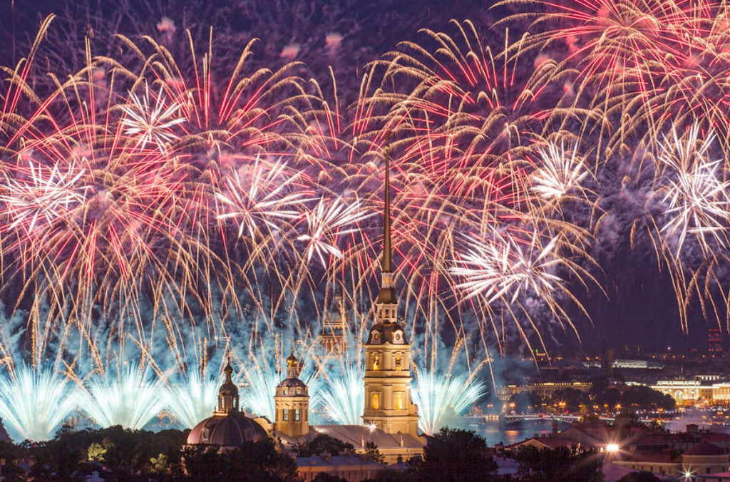С 20 пор 27 мая стартует неделя праздничных мероприятий, посвященных 315-летию Санкт-Петербурга