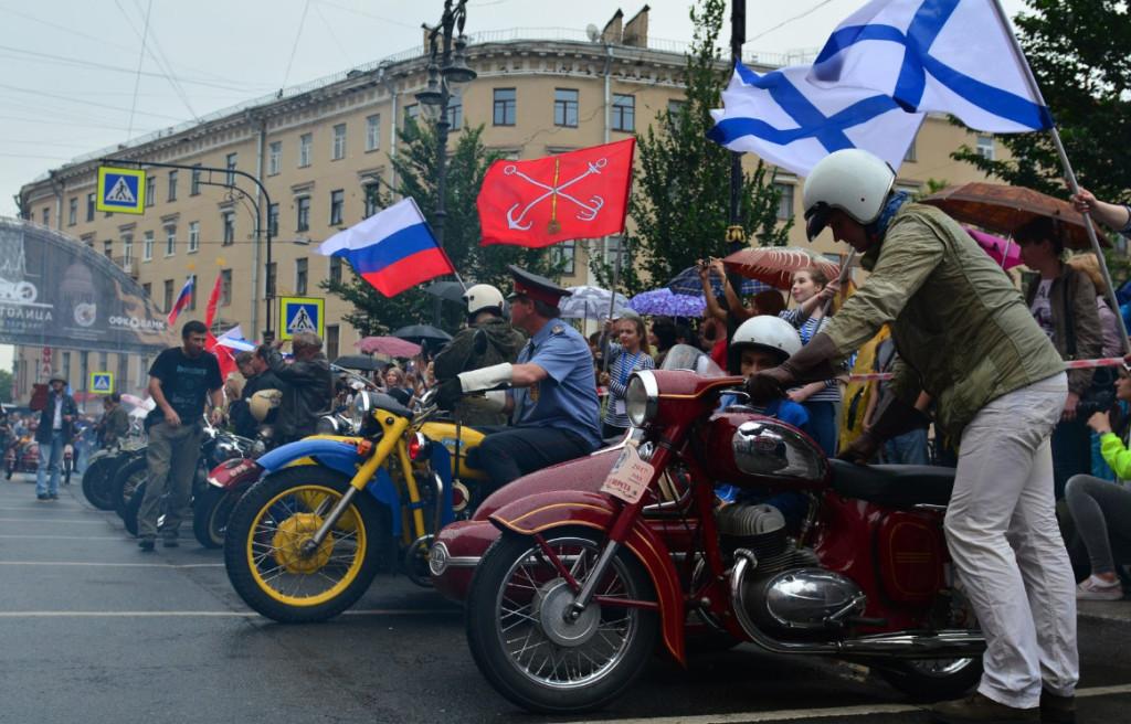 IV Петербургский международный парад ретро-транспорта