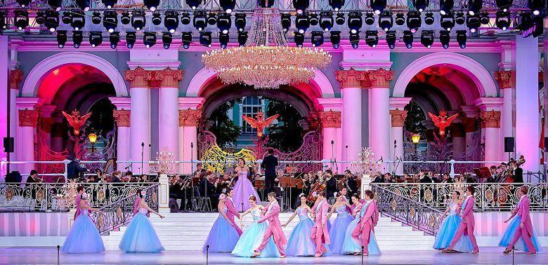 с 21.00 до 23.00 пройдет концерт «Классика на Дворцовой».