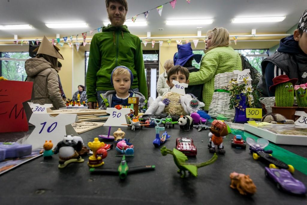Фляк-маркет - благотворительный семейный пикник и детский garage-sale - пройдёт 3 июня с 14 до 18 в Упсала-Цирке