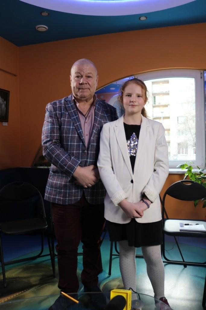 артист России Сергей Селин ответил на вопросы юных корреспондентов «TV kids Фрунзенского района».