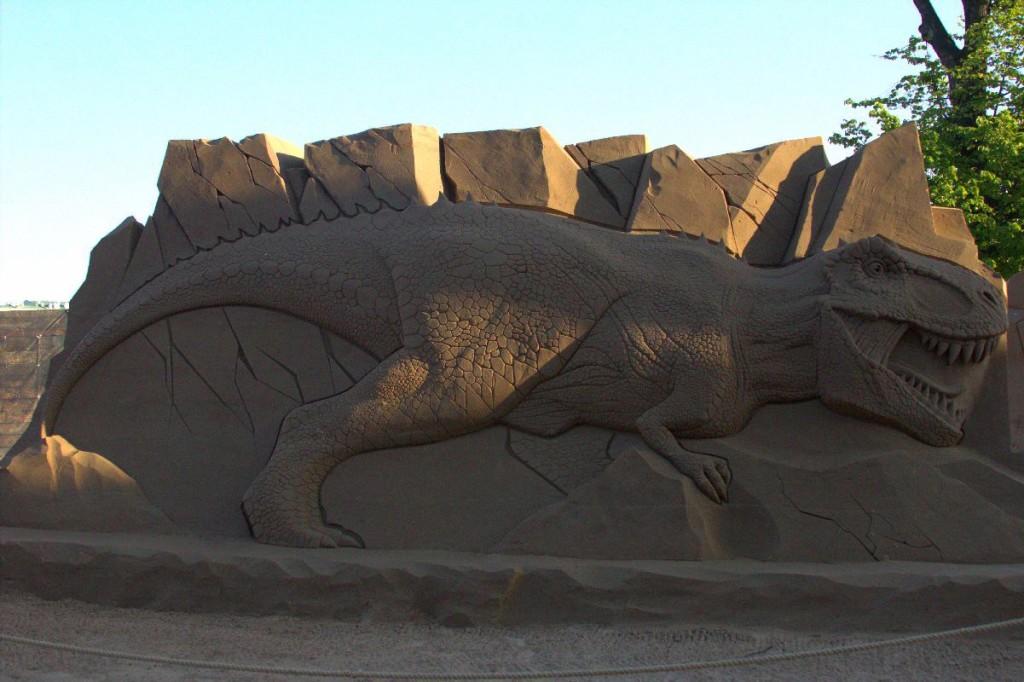фестиваль песчаных скульптур СПБ 2019