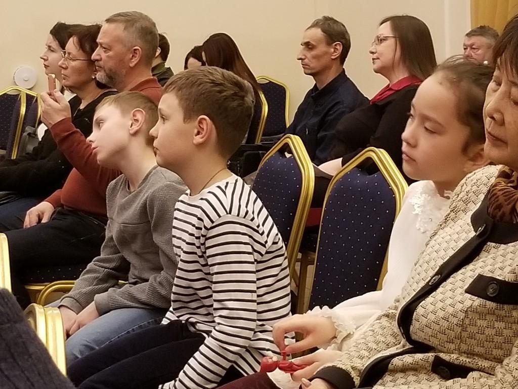 Учащиеся с ограниченными возможностями здоровья на концерте  ко Дню Святого Валентина  в Царском Селе
