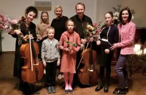 Дети с ОВЗ на концерте Баха