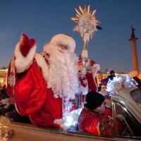 Деды Морозы станцуют на Дворцовой