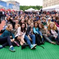 Более 100 тысяч человек посетили фан-зону Чемпионата мира по хоккею на Конюшенной