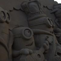 23 фигуры из песка
