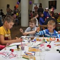 Детям с ОВЗ подарили праздник