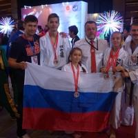 11-летняя каратистка из Купчина завоевала «серебро» и «бронзу» на чемпионате мира по сётокан каратэ