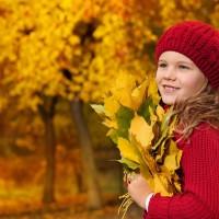 Делаем поделки из листьев с детьми