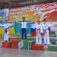 Юный петербуржец вошел в тройку лучших спортсменов по тхэквондо