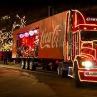 «Рождественский караван Coca-Cola» сделает 5 остановок в Петербурге