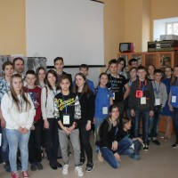 Николаевская гимназия стала объектом  конкурсного задания по AR-технологиям