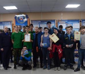 В учебном центре спасателей прошли соревнования для молодежи Невского района