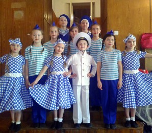Юные моряки покорили жюри