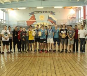 В Невском районе прошли соревнования по волейболу