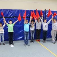 Юные моряки приветствуют «Техно-лето»