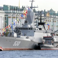 День ВМФ-2017 в Петербурге: Главный военно-морской парад, Кронштадт, фейерверк