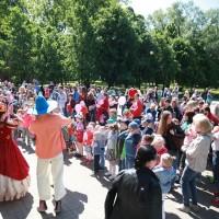 Кировский район встречает лето